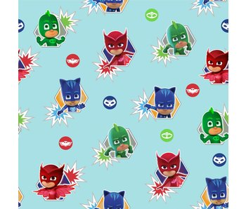 PJ Masks Wallpaper Heroes Roll 10 meters x 53cm