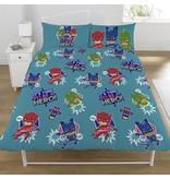 PJ Masks Be A Hero - Bettbezug - Doppelbett - 200 x 200 cm - Multi