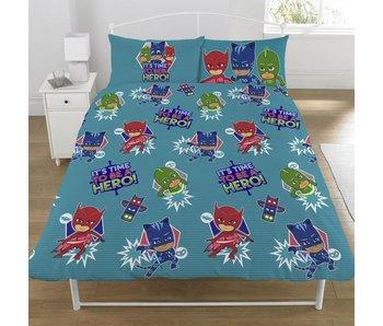 PJ Masks Bettbezug Be A Hero Doppelbett 200x200 + 50x75cm