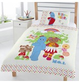 In de droomtuin Friends junior - Housse de couette - Seul - 120 x 150 cm - Multi