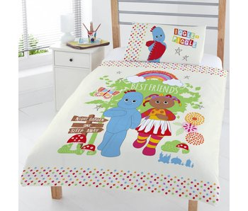 In de droomtuin Duvet cover Friends junior Single 120x150 + 42x62cm