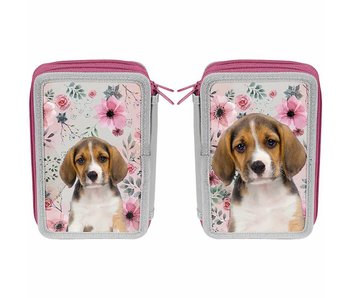 Animal Pictures Pencilcase Beagle 19 cm