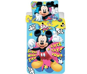 Disney Mickey Mouse Duvet cover 140x200 + 70x90cm - Polyester