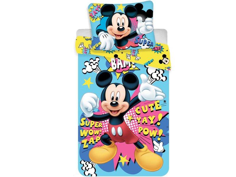 Mickey Mouse Duvet Mikrofaser 140x200 70x90 Simbashop Nl