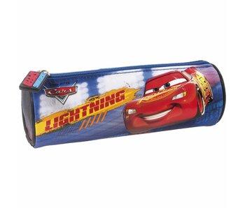 Disney Cars Round Pencilcase Lightning & Storm 20 cm