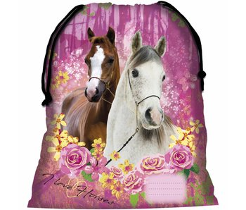 Animal Pictures Gymbag Horses Forest