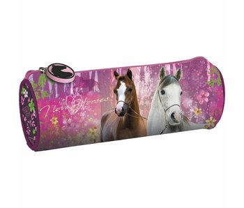 Animal Pictures Trousse ronde Chevaux Forest 20 cm