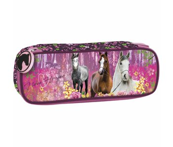 Animal Pictures Etui Paarden Forest
