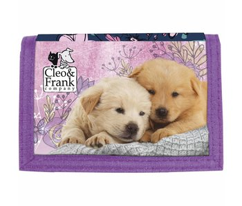 Cleo & Frank Wallet Puppy Friends