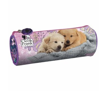 Cleo & Frank Rond Etui Puppy Friends 20 cm