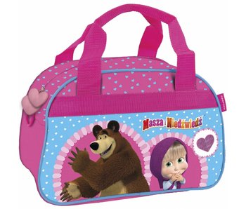 Masha en de Beer Sports bag Hearts 33 cm