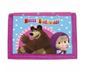 Masha en de Beer Wallet Hearts