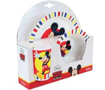 Disney Mickey Mouse Petit déjeuner ensemble 3 pièces