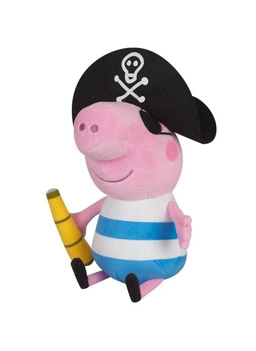 Peppa Pig Knuffel George Piraat 25 cm