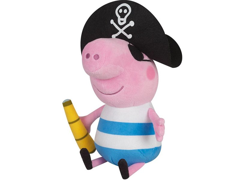 Peppa Pig George Pirat - Kuscheltier - 25 cm - Multi
