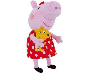 Peppa Pig Knuffel Polka dot 20 cm
