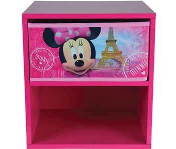 Disney Minnie Mouse Table de chevet avec tiroir