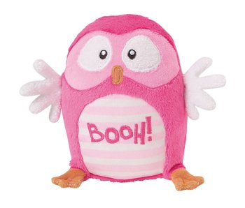 Luminou Glow in the Dark Hibou 12 cm Rose