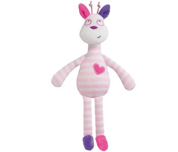 Luminou Glow in the Dark Girafe 28 cm Rose