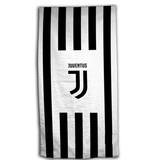 Juventus - Strandtuch - 70 x 140 cm - Schwarz, Weiß