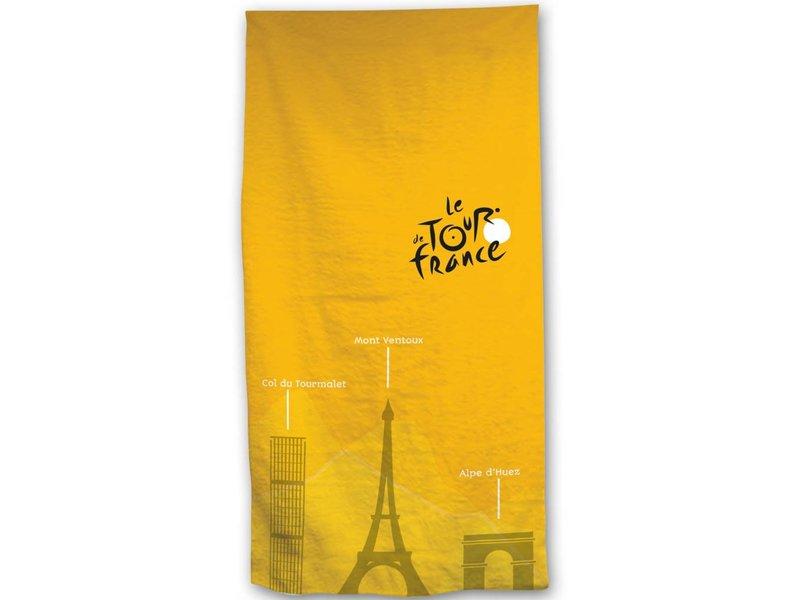Tour de France - Strandtuch - 70 x 140 cm - Gelb