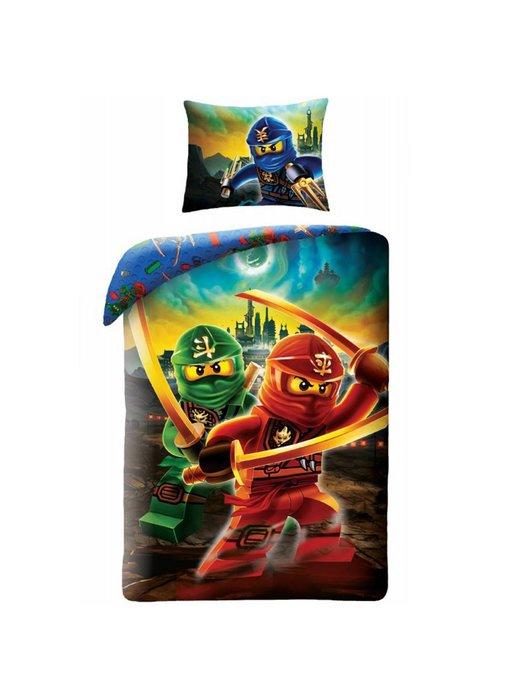 Lego Ninjago Duvet cover Skyline 140x200 + 70x90cm