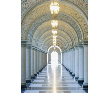 Fotobehang Archway 183 x 254 cm