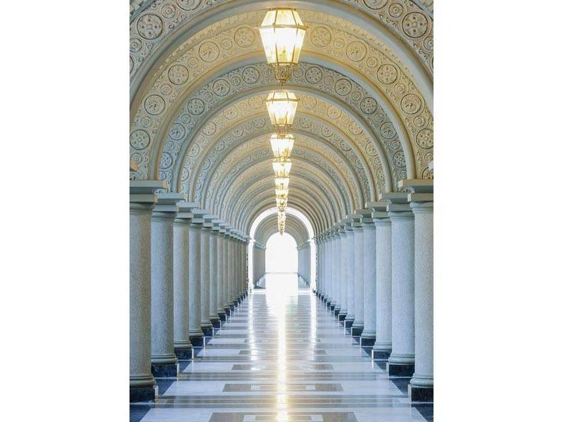 Fotobehang - Archway - 183 x 254 cm - Multi