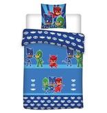 PJ Masks Team - Bettbezug - Einzel - 140 x 200 cm - Blau