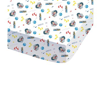 Beyblade Fitted sheet Hero 90x200cm
