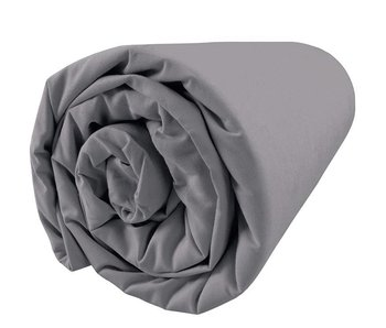 Matt & Rose Fitted Sheet Douce Nuit Graphite Grey 140x200 cm