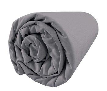 Matt & Rose Fitted Sheet Douce Nuit Graphite Grey 180x200 cm