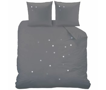Matt & Rose Duvet cover Douce Nuit Graphite Grey 260x240 cm