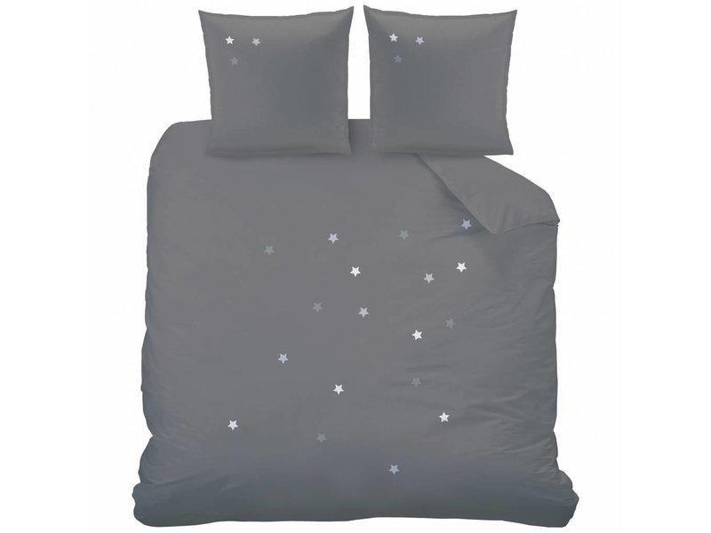 Matt & Rose Douce Nuit - Bettbezug - Lits Jumeaux - 240 x 220 cm - Graphitgrau