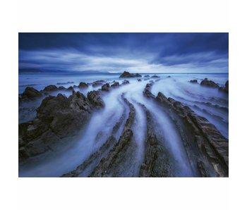 Fotobehang Seascape 4 delig 368x254cm