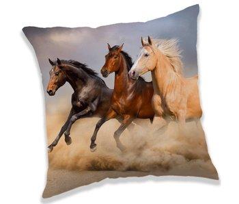 Animal Pictures Animal Pictures Sierkussen Paarden 40 x 40 cm