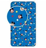 Disney Mickey Mouse Hello - Spannbettlaken - Einzel - 90 x 200 cm - Blau