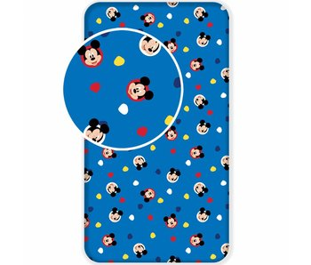 Disney Mickey Mouse Hoeslaken Hello 90 x 200 cm