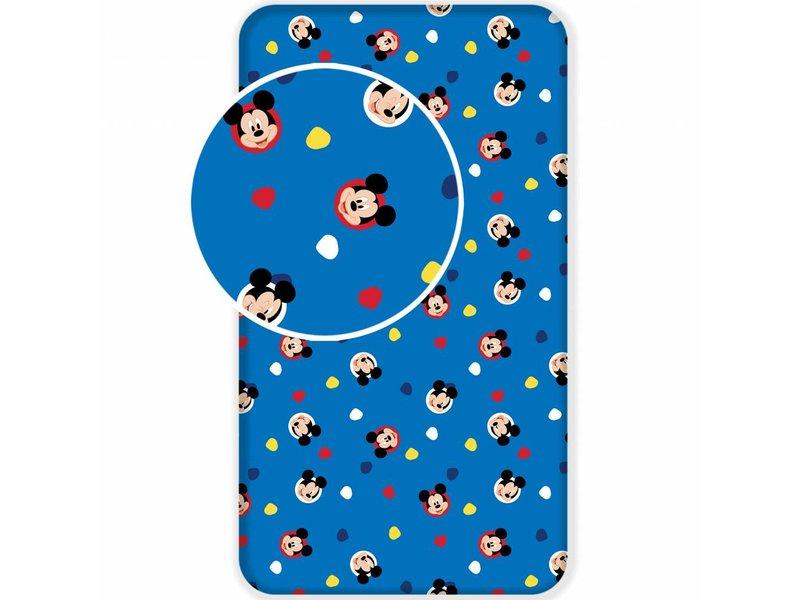 Mickey Mouse Nachtkastje.Disney Mickey Mouse Hoeslaken 90 X 200 Cm Simbashop Nl