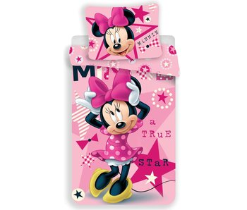 Disney Minnie Mouse Dekbedovertrek Star 140 x 200 cm