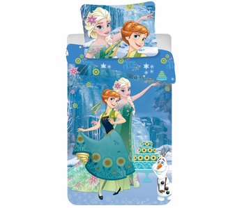Disney Frozen Bettbezug Sisters 140 x 200 cm