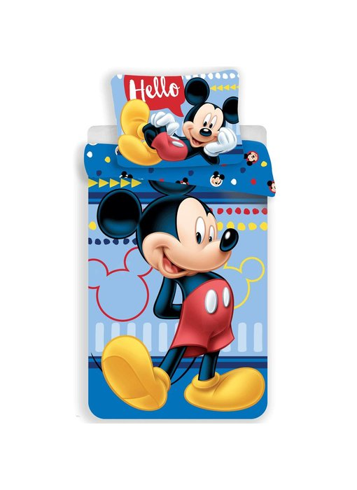 Disney Mickey Mouse Duvet cover Hello 140 x 200 cm