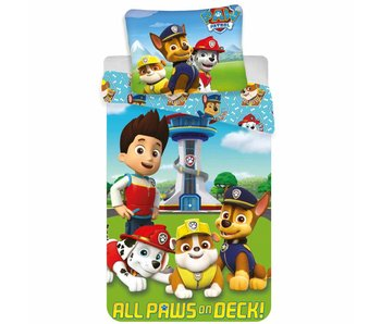 PAW Patrol Duvet cover All Paws on Deck 140 x 200 cm