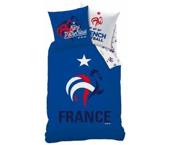 France FF Housse de couette Nation polycotton 140x200cm