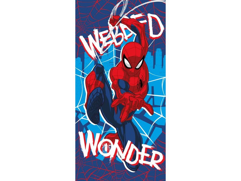 Spider-Man Wonder - Strandtuch - 70 x 140 cm - Multi