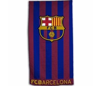FC Barcelona Strandlaken Stripes 70 x 140 cm