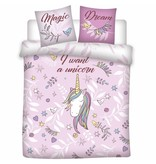 Unicorn Magic Dream - Duvet cover - Double - 200 x 200 cm - Pink