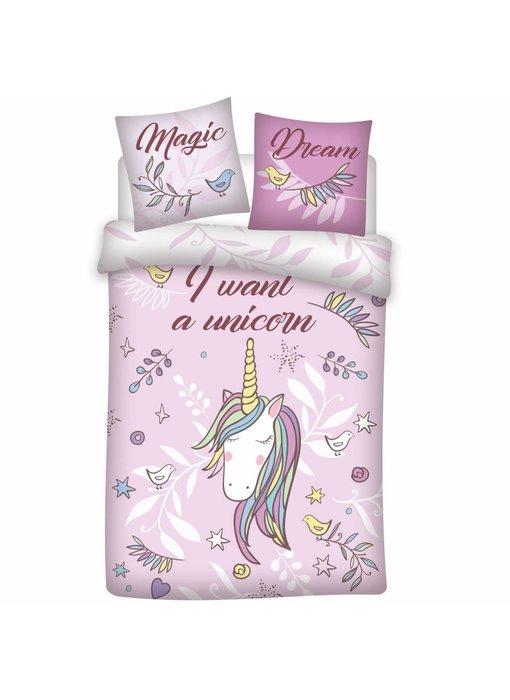 Unicorn Duvet cover Magic Dream 140x200cm