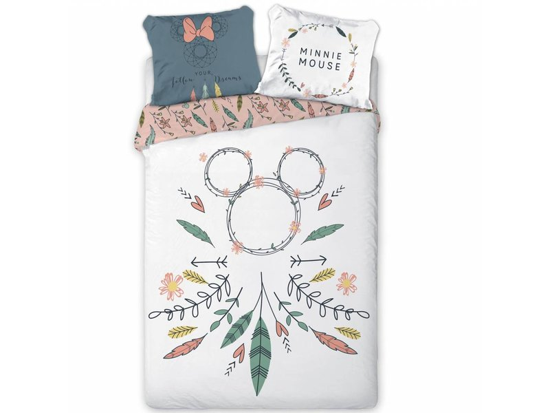 Disney Minnie Mouse Dreamcatcher - Duvet cover - Single - 140 x 200 cm - Multi