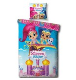 Shimmer And Shine Flying Carpet - Duvet cover - Single - 140 x 200 cm - Multi